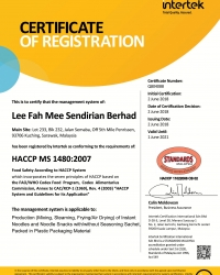 A. Microsoft Word - SM HACCP MS1480 Lee Fah Mee SB (2.6.18-1.6.21)